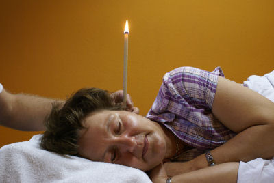 Hopi Ear Candle Treatment with Morag Kitt Exeter